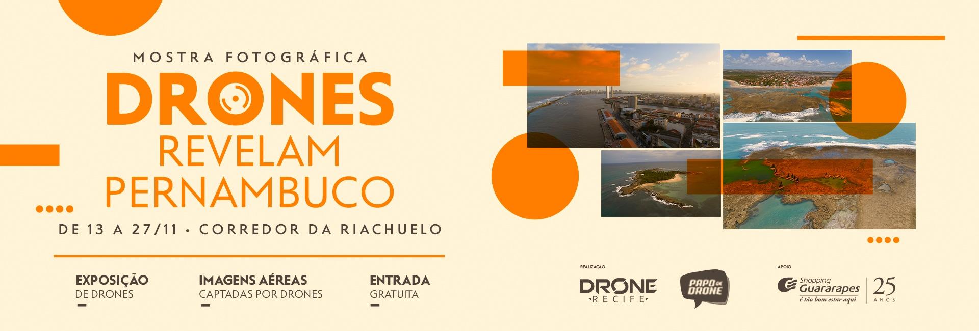 Exposição Drones