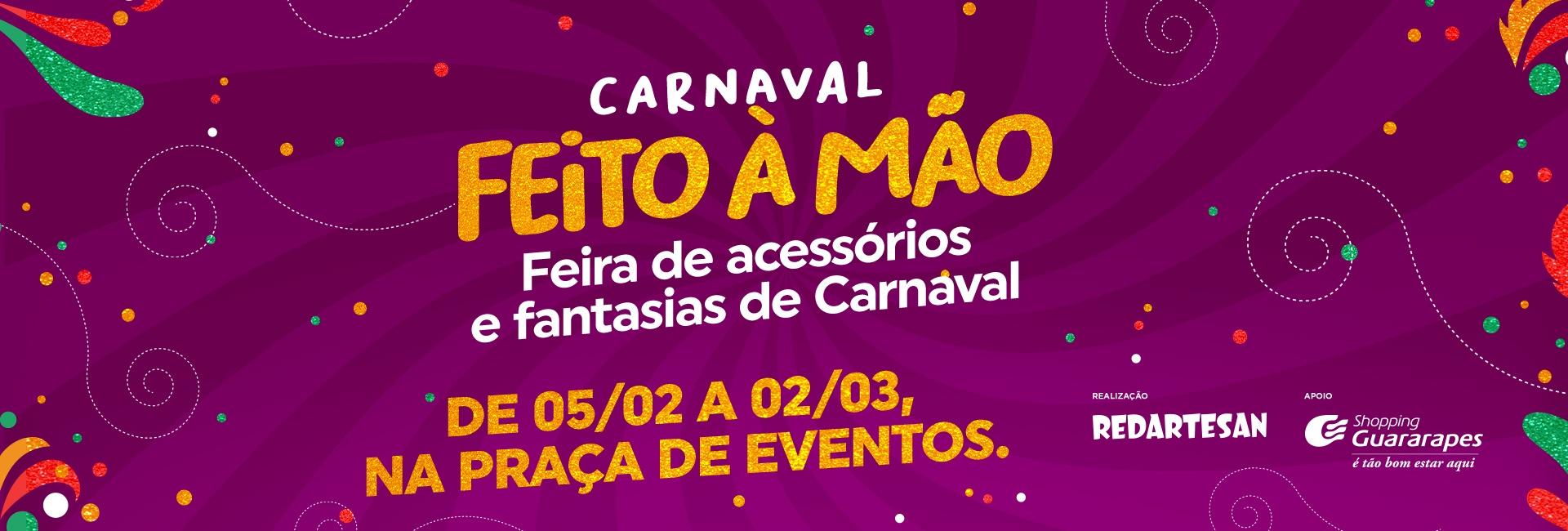 Carnaval feito à mão