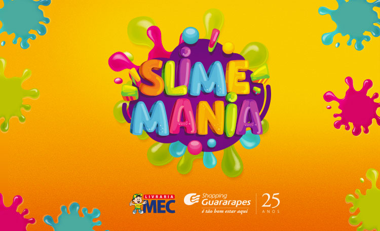 Slime Mania abre no Shopping Guararapes