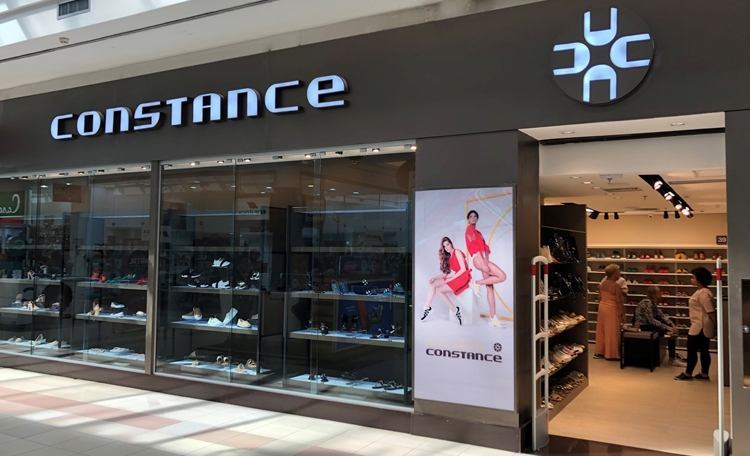 Conheça a nova loja  Constance, no corredor da CVC Viagens.
