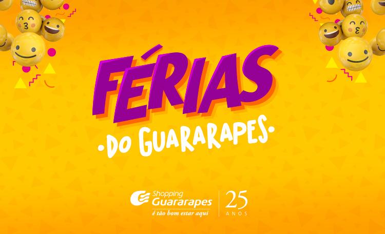 Divirta-se com as atrações de férias do Guararapes.