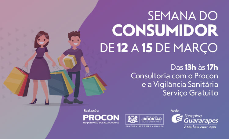Procon tira dúvidas no Dia do Consumidor do Shopping Guararapes
