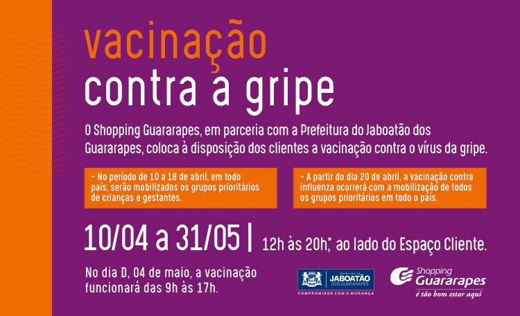 Guararapes entra na campanha de imunização