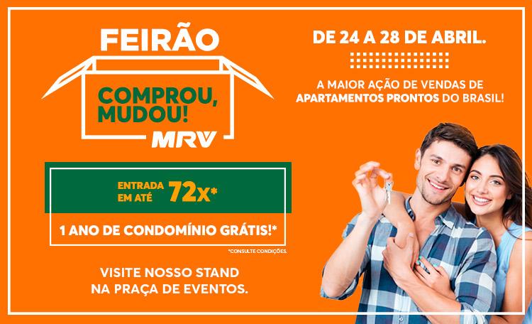 Shopping Guararapes recebe Feirão de Imóveis MRV