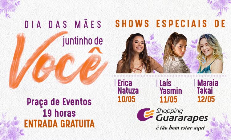 Shopping Guararapes recebe ex-participantes do The Voice em comemoração ao Dia das Mães