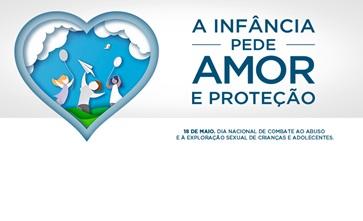 A infância pede amor e proteção e o Shopping Guararapes apoia essa causa