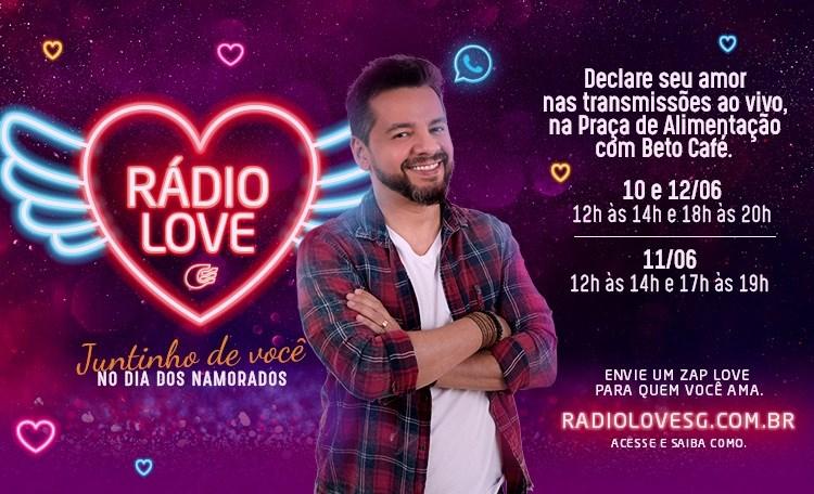 Em comemoração ao Dia dos Namorados, Shopping Guararapes lança a Rádio Love SG.