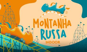 Vem brincar em nossa Montanha Russa Indoor