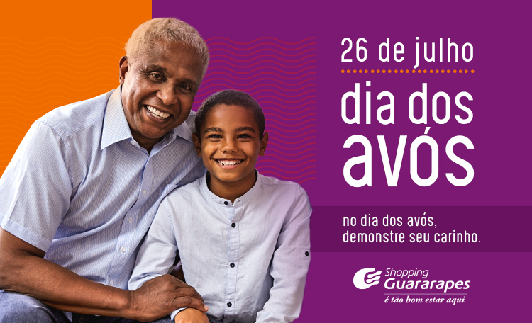 O Dia dos Avós fica melhor quando estamos juntinho de quem nos dá tanto carinho