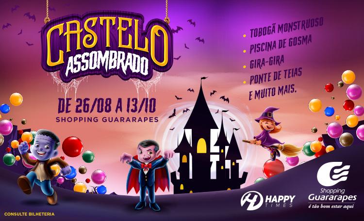 O Castelo Assombrado chegou para garantir a diversão da criançada