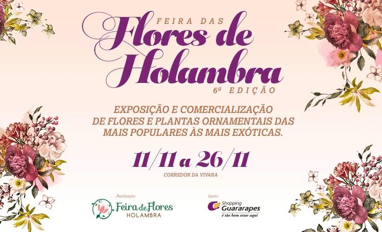 A Feira das Flores produzidas na Holambra está de volta