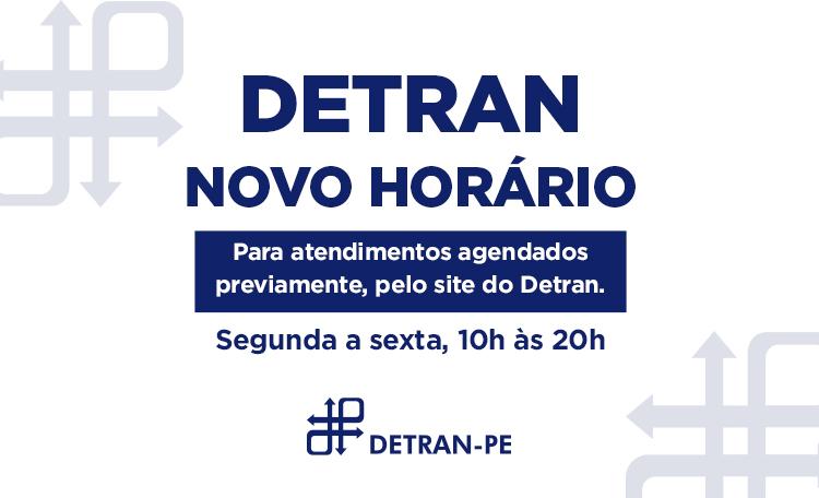 O Detran reabriu aqui no Shopping Guararapes e está funcionando das 10h às 20h (seg. a sex.).