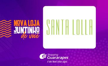 Conheça a Santa Lolla, no corredor da CVC Turismo.