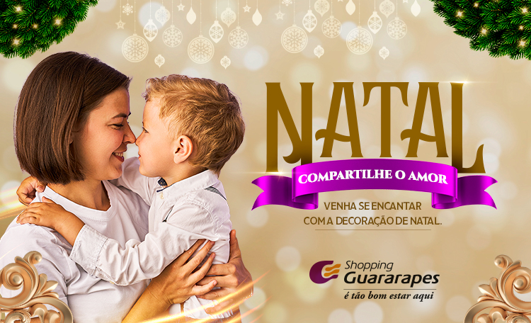 Venha se encantar com nossa decoração de Natal