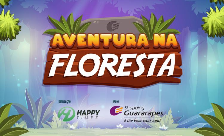 Vem se divertir no espaço Aventura na Floresta, localizado no corredor da loja Riachuelo.
