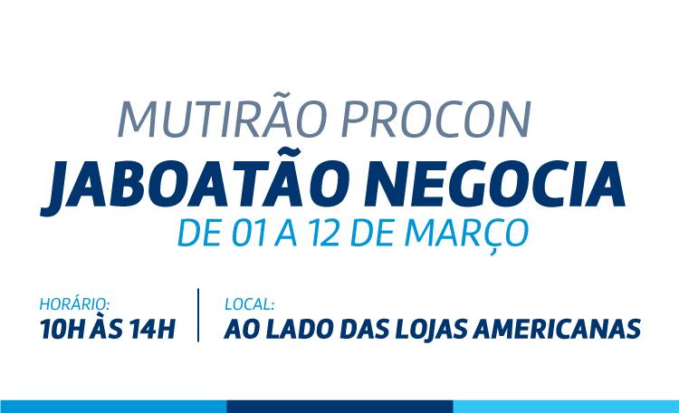 Shopping Guararapes recebe o Mutirão Jaboatão Negocia. Confira!