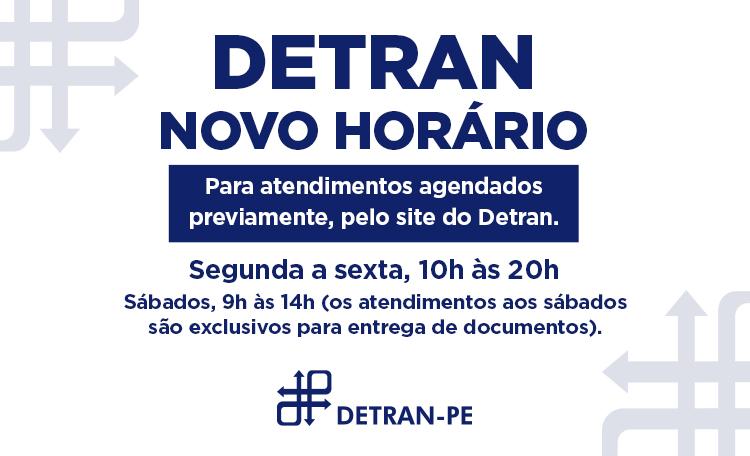 Confira o horário de funcionamento do Detran aqui no Shopping Guararapes.