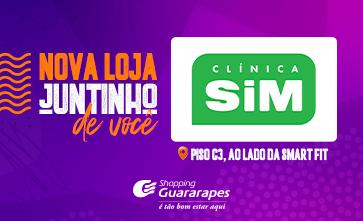Clínica SIM inaugura no Shopping Guararapes.