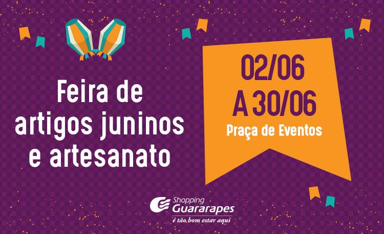 Venha festejar o São João aqui no Guararapes!