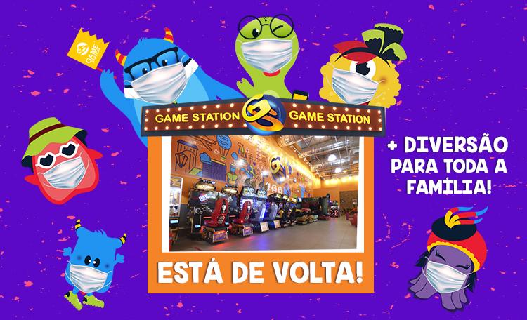 Game Station está de volta!
