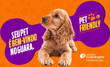 Seu pet é super bem-vindo no Guara!