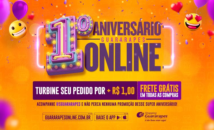 Aniversário Guararapes Online