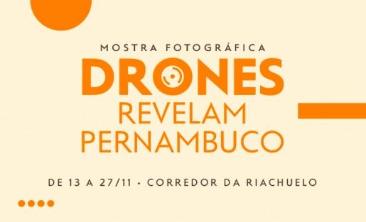 Mostra de Fotografia com Drones chega ao Shopping Guararapes