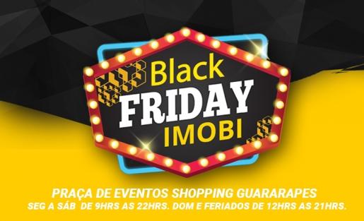 IMOBI promove Feirão Black Friday no Shopping Guararapes