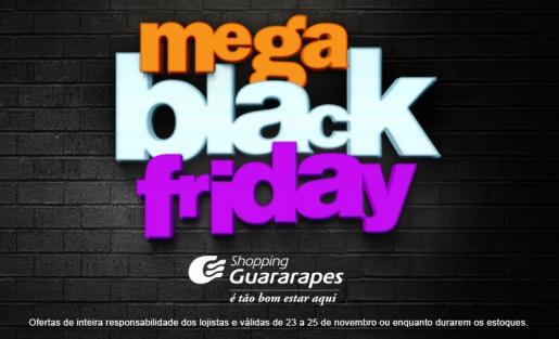 Baixe o App do Shopping Guararapes e aproveite as ofertas da nossa Black Friday.