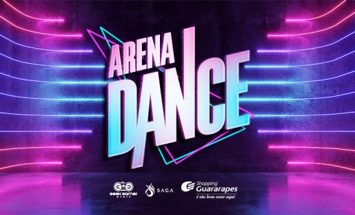 Participe da nossa Arena Dance. Até o dia 03/02, na lateral da Praça de Eventos.