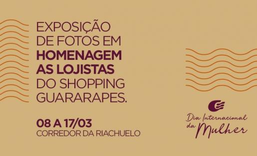 Shopping Guararapes prepara homenagem às lojistas no Dia da Mulher
