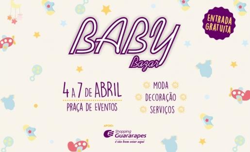 Baby Bazar chega ao Guararapes com atrações gratuitas