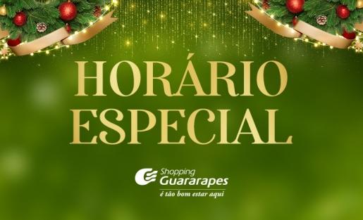 Confira o nosso horário especial de fim de ano