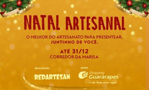 Confira a Feira de Artesanato Natal Artesanal