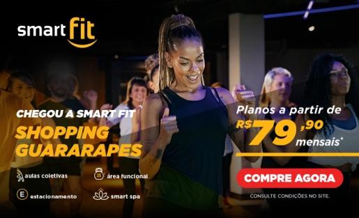 Conheça a Smart fit, no piso G3 do nosso edifício garagem.
