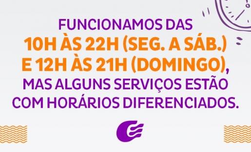 Confira as operações de serviço que estão funcionando em horário diferenciado.