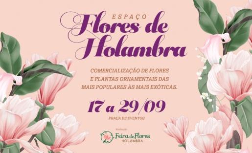 O Espaço Flores de Holambra está de volta ao Shopping Guararapes.