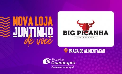Confira a Big Picanha Grill e Burguer, nova loja de alimentação do Guara.