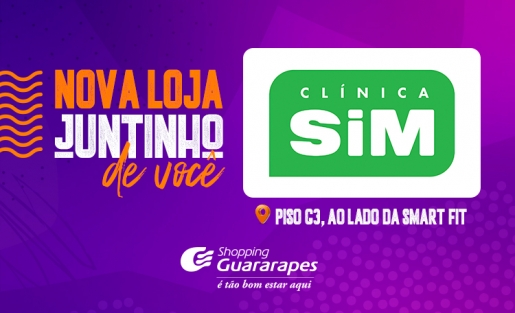 Clínica SIM inaugura no Shopping Guararapes.