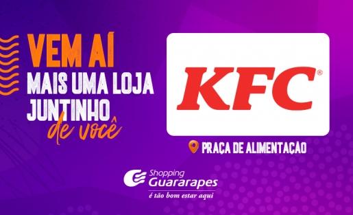 Vem aí: KFC