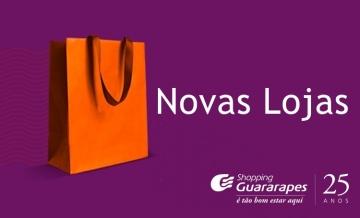 Confira as novas lojas que chegaram aqui no Shopping Guararapes.