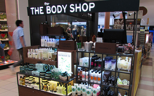 The Body Shop - Quiosque