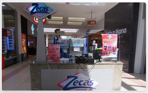 Zeca's Sorveteria - Quiosque