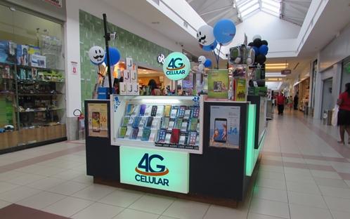 4G Celular - Quiosque