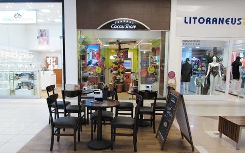 Cacau Show - Lojas - Shopping Guararapes