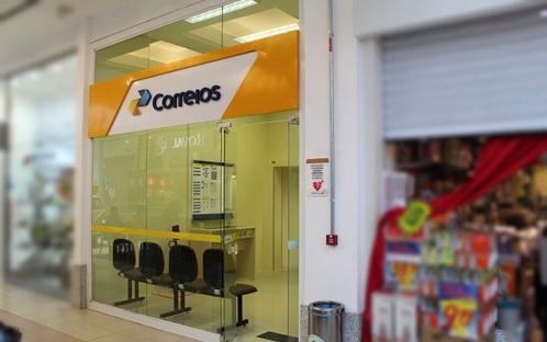 Correios - Lojas - Shopping Guararapes