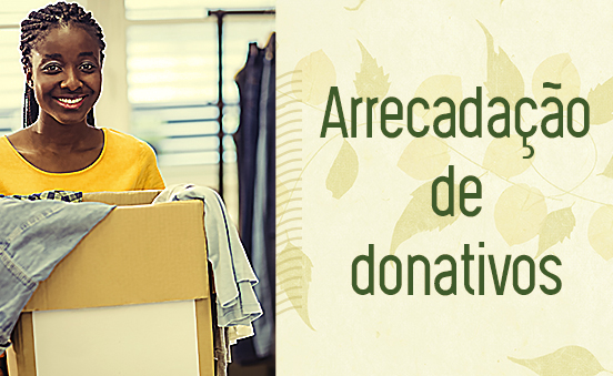 Arrecadação de donativos