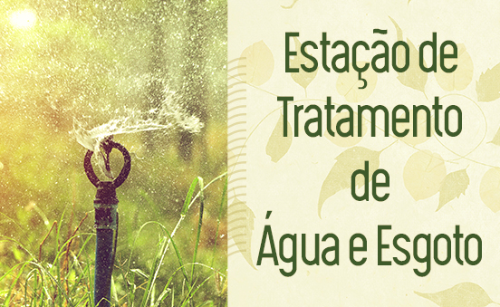 Estação de tratamento de água e efluentes
